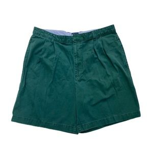Vintage Tommy Hilfiger green casual shorts